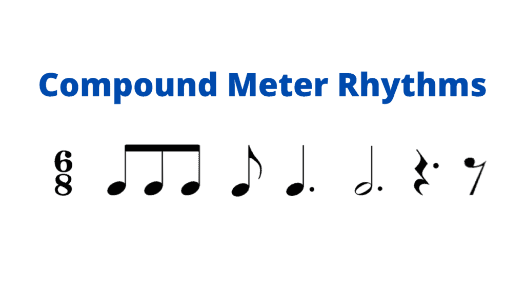 compound meter rhythms teaching rhythm to beginners