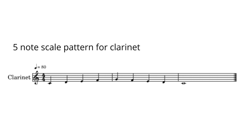 five note scale pattern